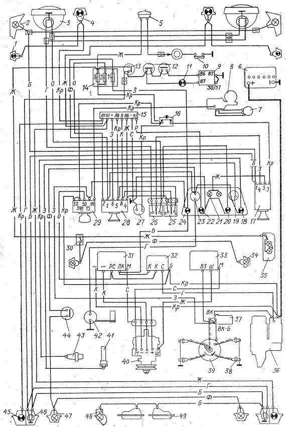 Saporoshez 968 Betriebsanleitung 1978